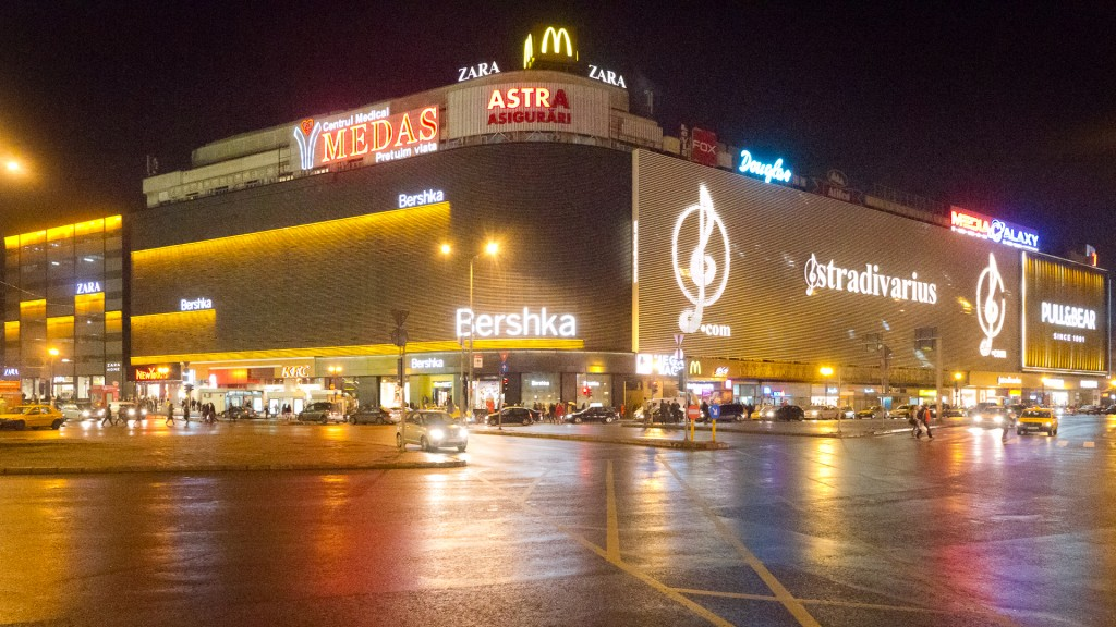 What type of  shopping centre is most sucessful in Bucharest?
